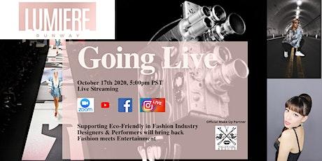 Digital Virtual Fashion Show L.A Eco-Friendly Sustainable tickets