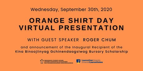 Virtual Orange Shirt Day Presentation 2020 tickets