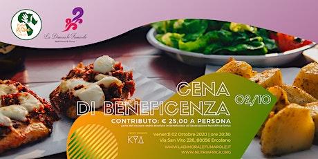 Cena di Beneficenza in collaborazione con NutriAfrica biglietti