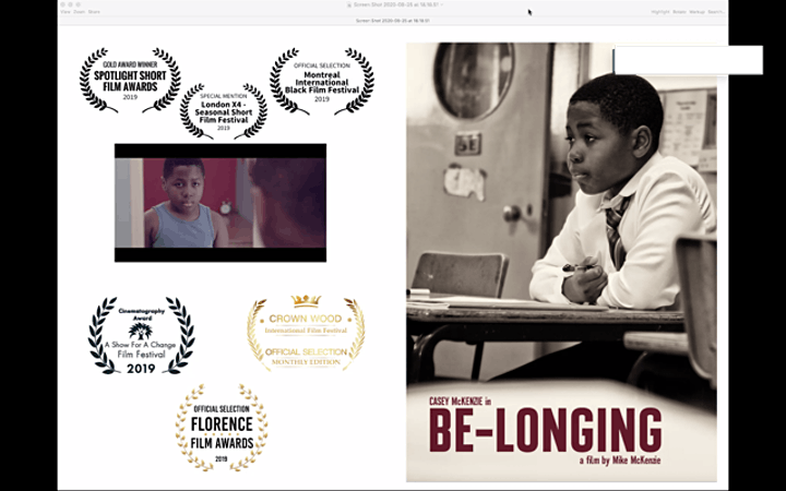 Be-Longing - a young boy in the foster care system image
