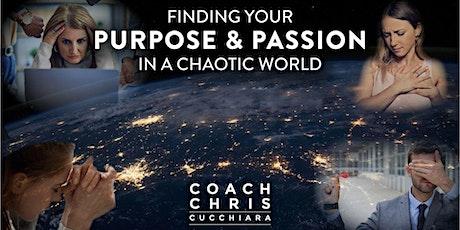 Design a Purpose-Driven Life with Coach Chris Cucchiara tickets