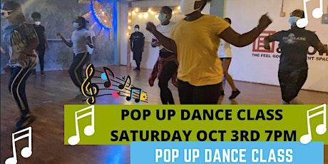 Pop Up Dance Class tickets