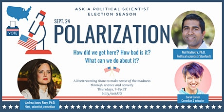 Ask a Political Scientist: Election Season -- Polarization! tickets