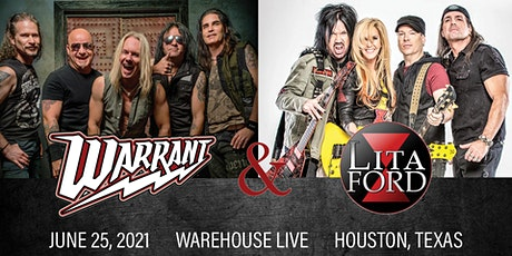 WARRANT / LITA FORD / BULLETBOYS tickets