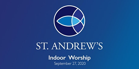 September 27 In person worship and Holy Communion tickets