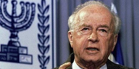A 25 años del asesinato de Isaac Rabin entradas