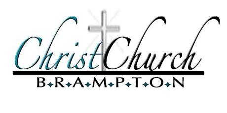 Copy of Christ Church Brampton In-Church Service tickets