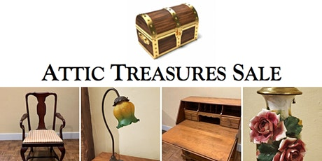 Attic Treasures Pop- Up: Furniture & Decor! tickets
