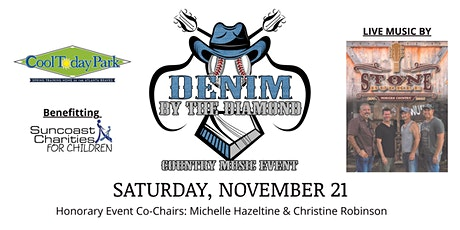 """Denim By The Diamond"" Country Music Event tickets"