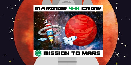 Mission to Mars 4-H Club tickets