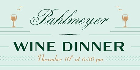 Pahlmeyer Winery Pairing Dinner at Heaton's Vero Beach! tickets