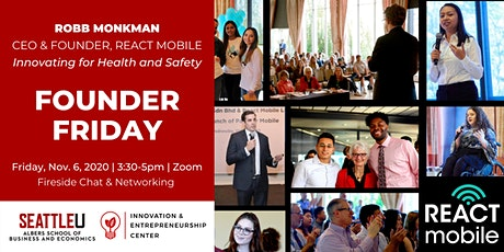 Founder Friday with Robb Monkman tickets