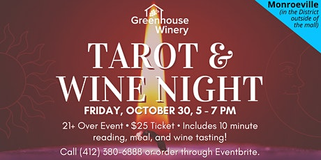 Tarot & Wine Night at Monroeville Mall!