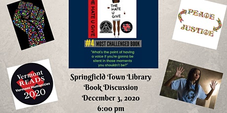 Book Discussion - THUG tickets