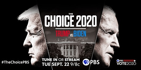 "WGBH Presents ""THE CHOICE: Biden, Trump and the Election Battleground"" tickets"
