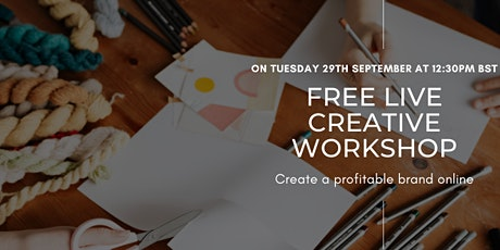 Create your brand online and attract your dream clients tickets