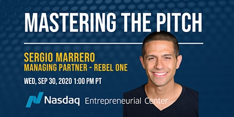 Mastering the VC Fundraising Pitch with Sergio Marrero tickets