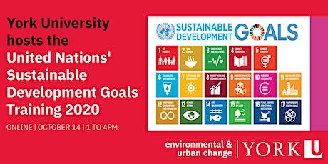 United Nations' Sustainable Development Goals Training at York University tickets