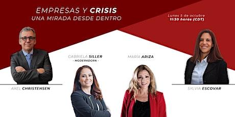 Empresas y crisis: una mirada desde adentro tickets