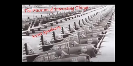 The Museum of Interesting Things Invention on 16mm film Secret Speakeasy tickets