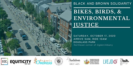 Bikes, Birds & Environmental Justice tickets
