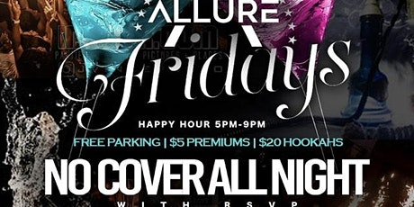 Fridays @ Bar2200 in River Oaks | Happy Hour 5p-9p | $20 Hookah |Free Entry tickets