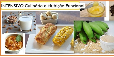 24/10 INTENSIVO Culinária e Nutrição Funcional - 9h às 17h ingressos