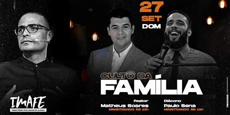 Culto da Família | 10hrs | Pr Matheus Soares | Ads ingressos