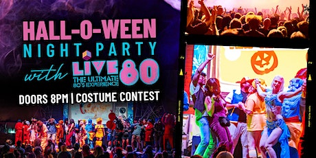 Hall-O-Ween with LIVE 80 at Legacy Hall tickets