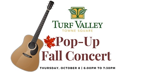 Pop-Up Fall Concert at Turf Valley Towne Square tickets