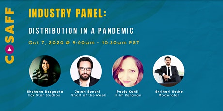 CoSAFF Industry Panel: Distribution In A Pandemic tickets