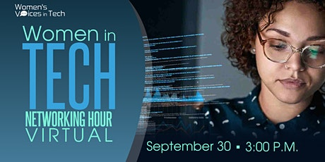 Women in Tech Networking Hour (Virtual) tickets