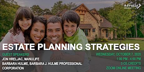 Advocis Kingston: Estate Planning Strategies tickets
