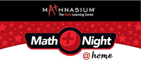 Math Night with Mathnasium! tickets
