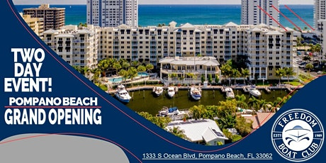 Grand Opening | Pompano Beach | 2 Day Event! tickets