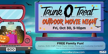 MCLB Trunk O' Treat & Outdoor Movie Night tickets