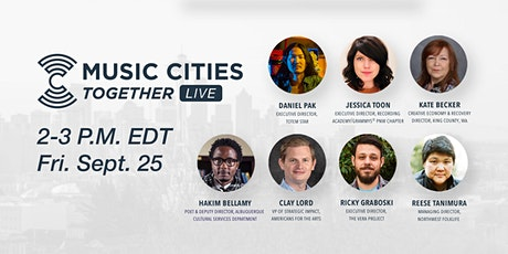 Music Cities Together: Live (Sept. 25th) tickets