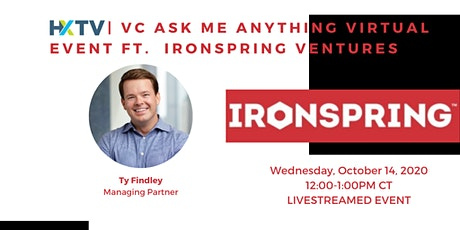 HXTV| VC Ask Me Anything Virtual Event ft IronSpring Ventures tickets
