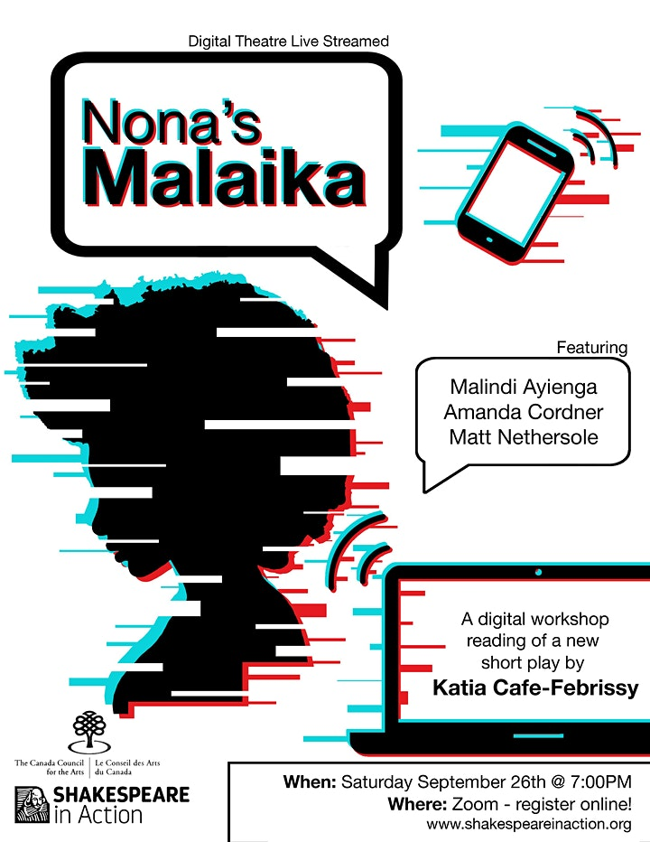Nona's Malaika - A Live-Streamed Staged Play Reading image