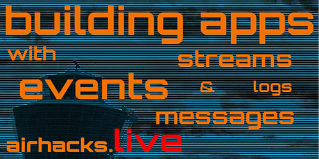 Building Event-Driven Applications with Streams, Logs and Messages tickets