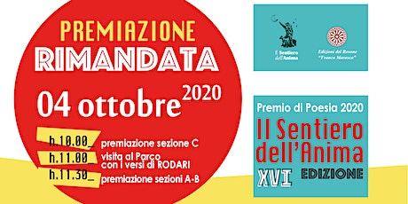 Premio Nazionale di Poesia IL SENTIERO DELL'ANIMA 2020 biglietti
