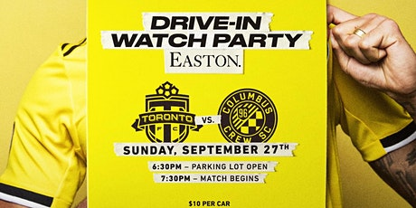 Easton Community Drive-In:  Columbus Crew vs. Toronto FC at 7:30PM tickets