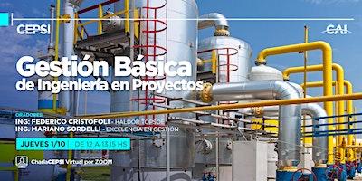 #Charla CEPSI: Gestión Básica de Ingeniería en Proyectos