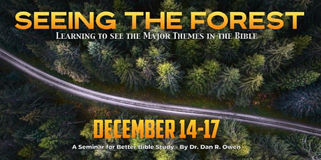 Seeing the Forest: Learning to See the Major Themes in the Bible tickets