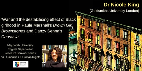 """Dr Nicole King: """"War and the destabilising effect of Black girlhood"""" tickets"""