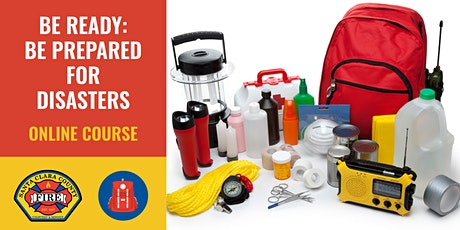 ONLINE Course: Be Ready: Be Prepared for Disasters!  LG/MS tickets