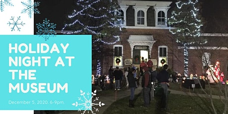 Holiday Night at the Museum tickets