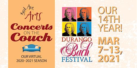 "Durango Bach Festival's ""Bach's Lunch"" tickets"