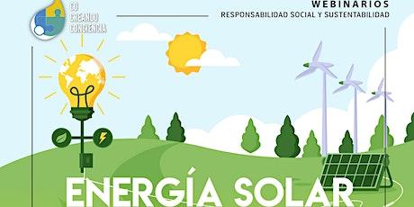 Energía solar: por qué cambiar la manera en la que pensamos la energía boletos