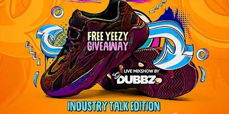 The Blast Free Yeezy Boost 700 Raffle at  DJDUBBZNYC.COM tickets